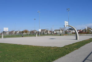 Basketball Courts at Cumberland Park