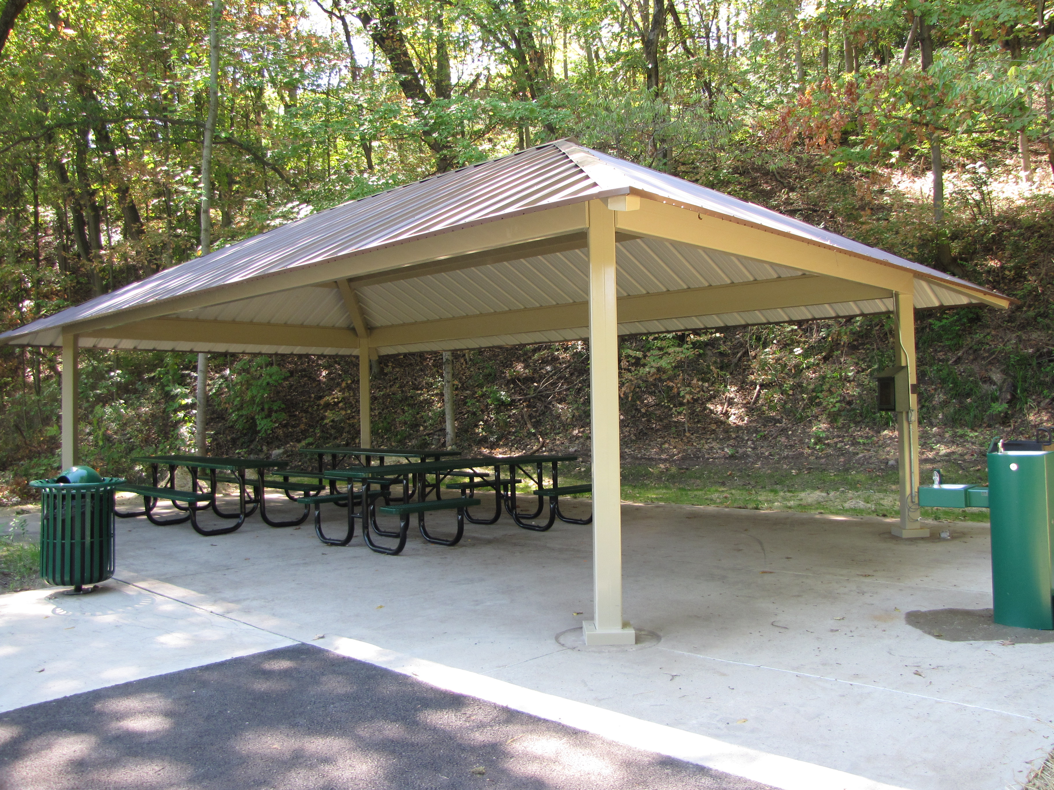Happy Hollow Park East Shelter
