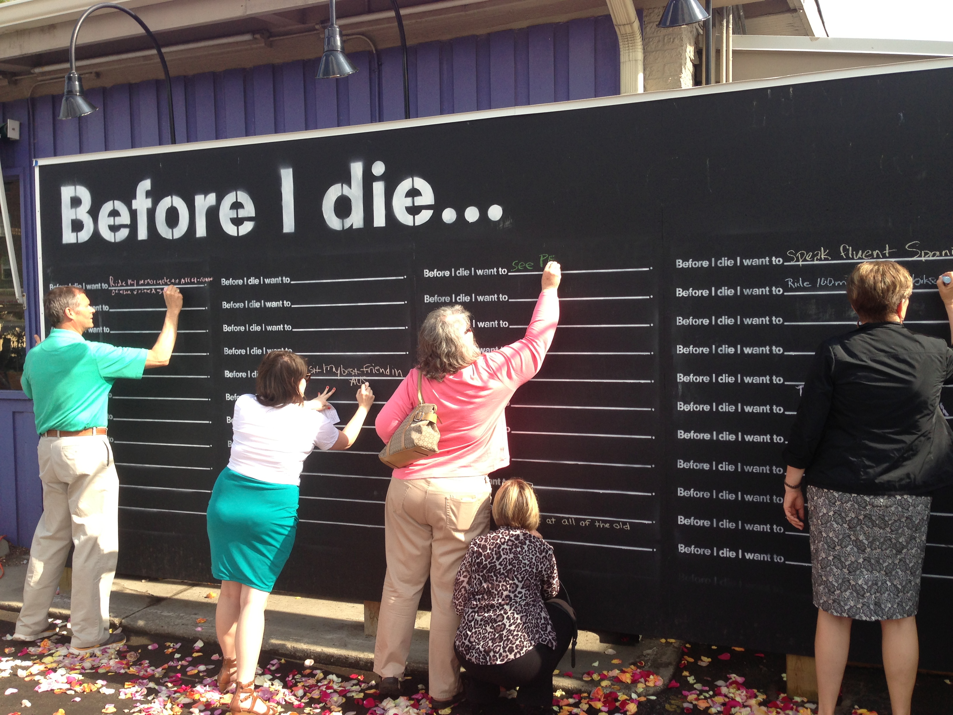 Before I Die 1