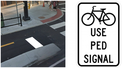SB and Use Ped Signal