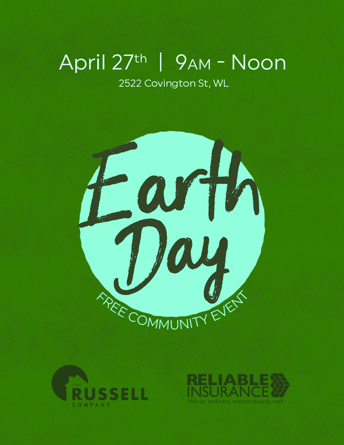 7th Annual Earth Day Event