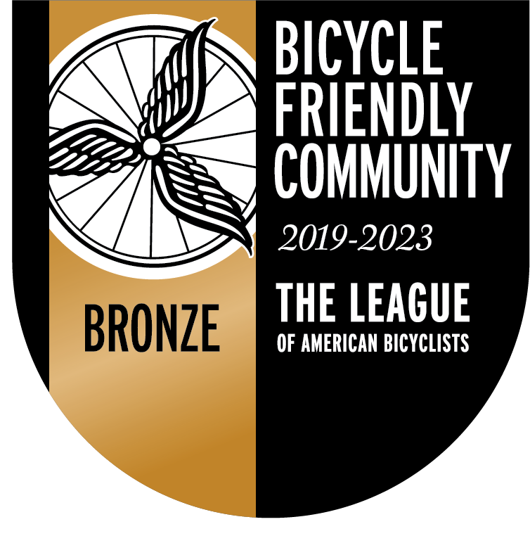 Bicycle Friendly Community Bronze Level