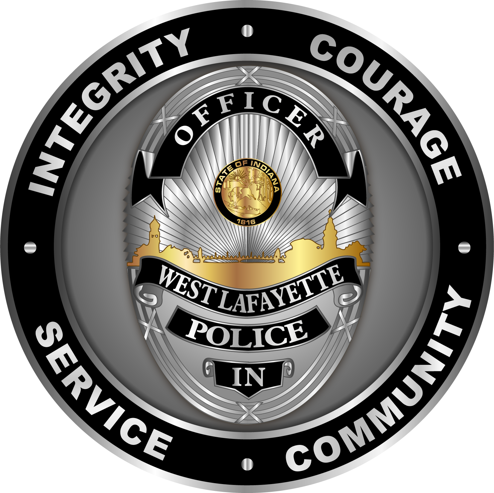Coin Badge Logo