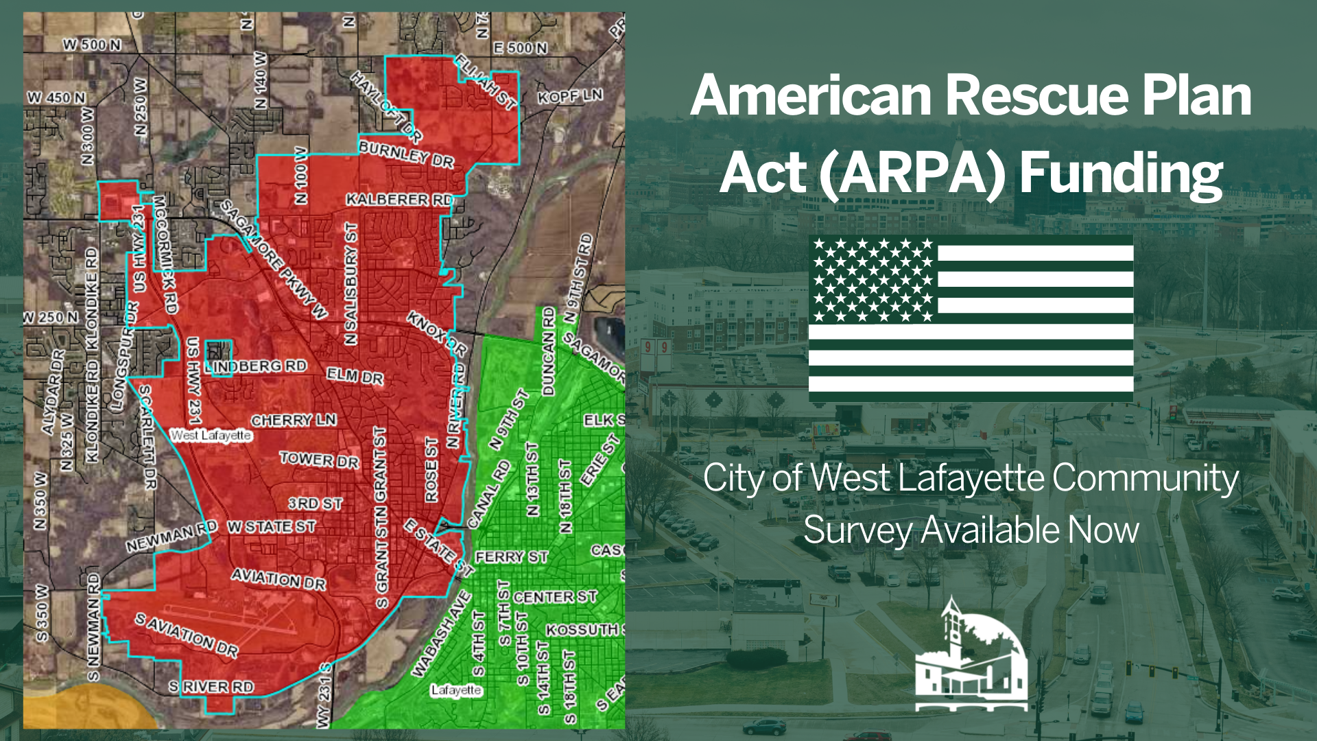 American Rescue Plan Act - West Lafayette Resident Input Survey